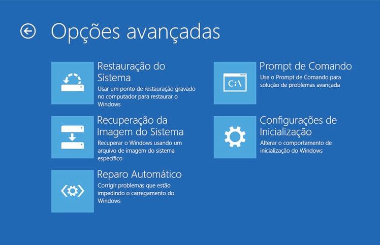 Como inicializar o Windows 10 e o Windows 8.1 em modo de segurança?