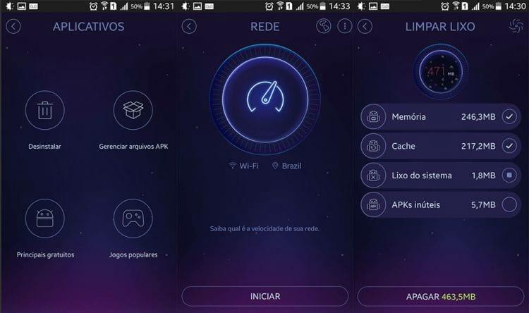 Otimizando o smartphone com o DU Speed Booster