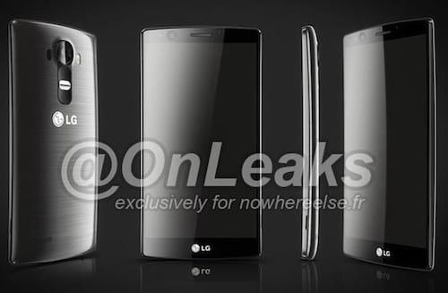 Imagem do LG G4 aparece na internet