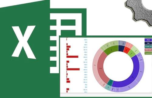 Criando gráfico tipo sunburst no Excel