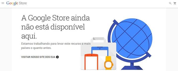Google Store - A loja oficial dos produtos Google já está no ar