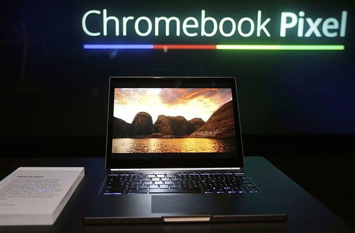 Pixel, o novo Chromebook do Google