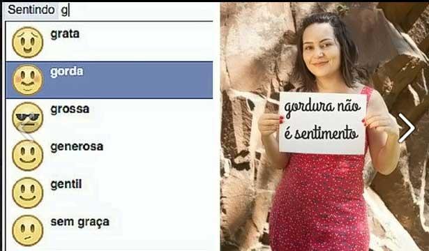 """Facebook remove opção """"gordo"""" no status após petição online"""