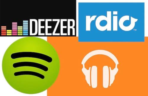 Spotify x Deezer x Rdio x Google Play Music, qual o melhor?