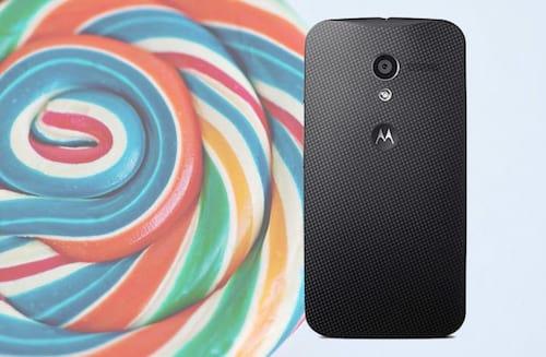 Motorola libera Lollipop para o MotoX 1ª geração