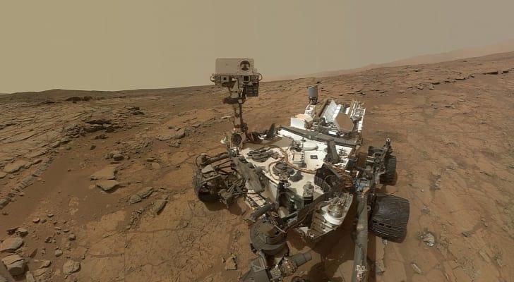 Curiosity encontra novas evidências de possível vida em Marte