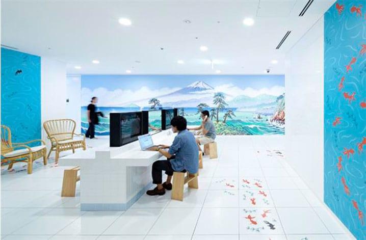 Escritório em Tóquio