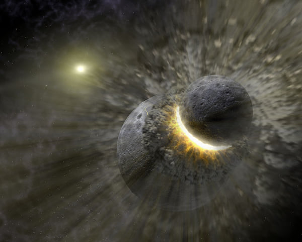 Terra pode ter surgido a partir de colisão entre Júpiter e jovens planetas