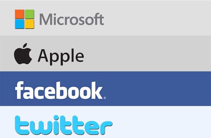 Como trabalhar na Microsoft, Google, Facebook, Twitter e Apple?