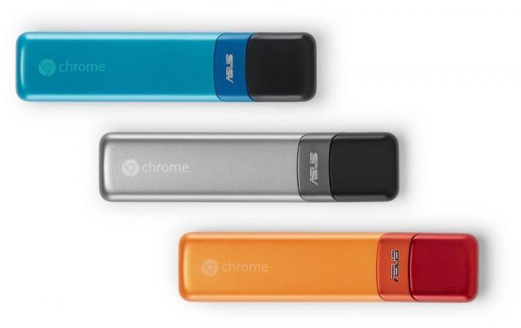 Asus e Google anunciam o Chromebit, um computador do tamanho de um pendrive