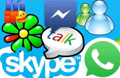 Quais s�o os mais famosos mensageiros instant�neos?