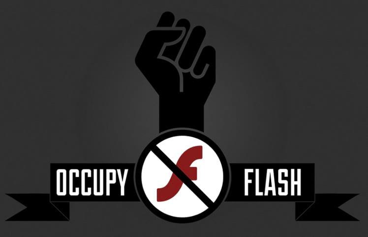 """Site dedicado ao """"movimento"""" de desutilização do Flash Player"""
