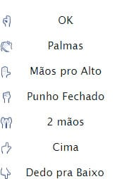 Emoticons para o Facebook