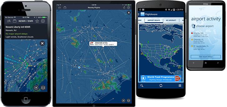 [Brasil] Cinco super apps para rastrear voos  Mobile-flighttraker