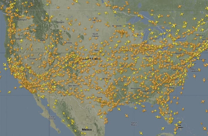 [Brasil] Cinco super apps para rastrear voos  Radar