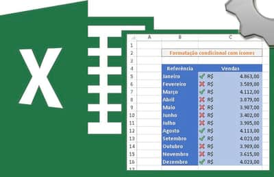 Inserindo �cones na formata��o condicional no Excel
