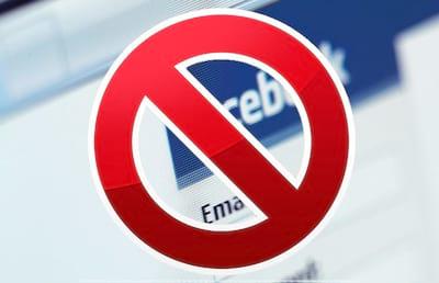 Como desbloquear um contato no Facebook?