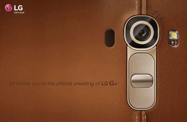 Novas imagens do LG G4 são reveladas na internet