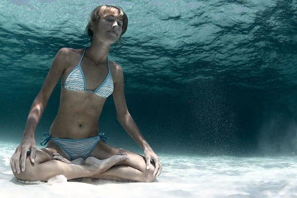 Como respirar embaixo d'agua?