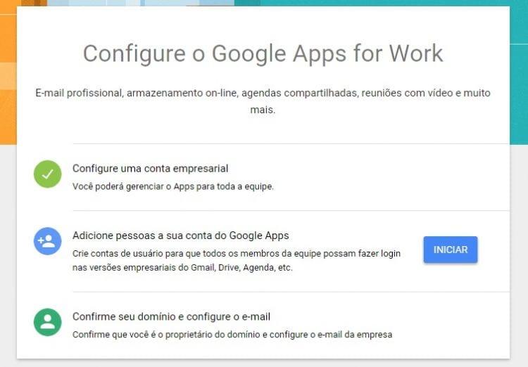 Como criar um e-mail empresarial no Gmail com o domínio da sua empresa