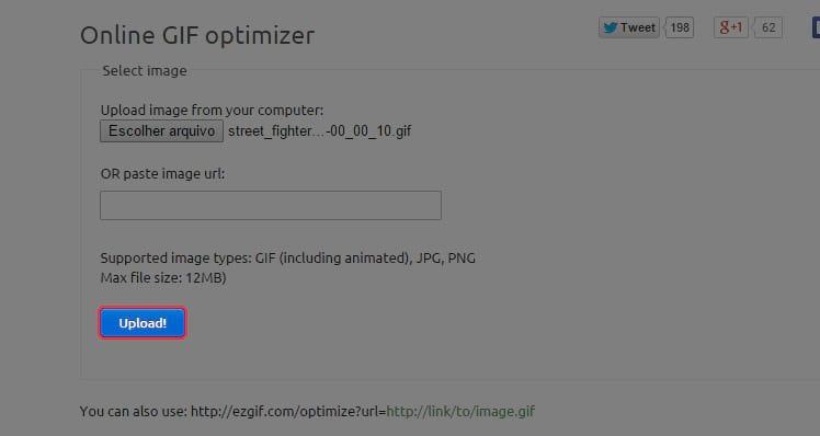 Como otimizar GIFs para a internet?