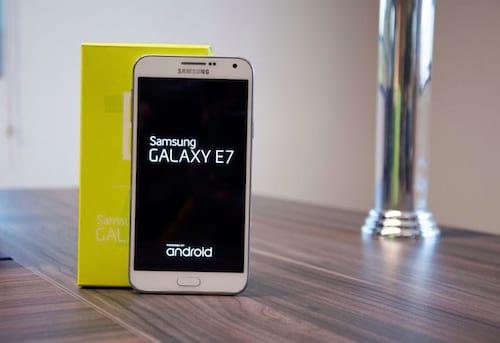 Review Galaxy E7 [vídeo]