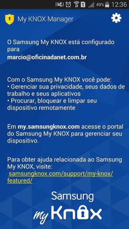 O que é o Samsung Knox