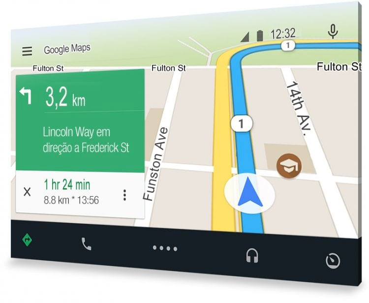 Android Auto - o aplicativo automotivo do Google