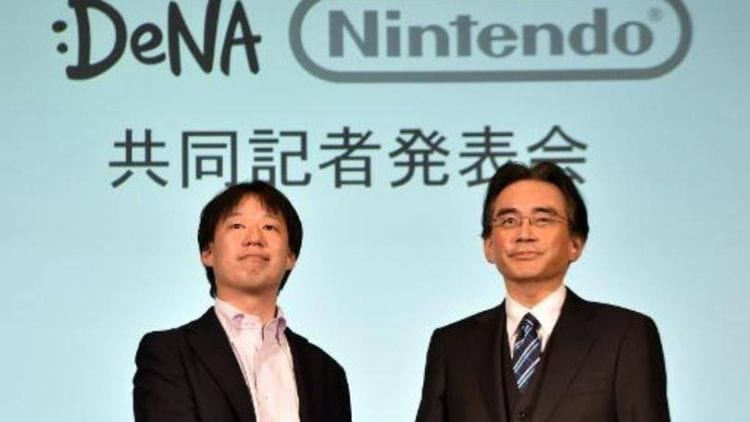 Nintendo promete lançar cinco games para smartphones e tablets até 2017