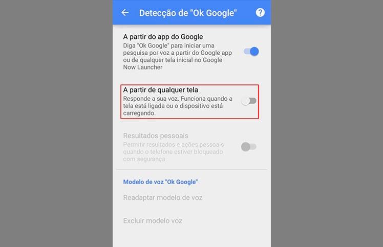 """Como utilizar o """"Ok Google"""" em qualquer tela do Android?"""