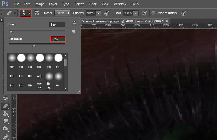 Como mudar a cor dos olhos no Photoshop?