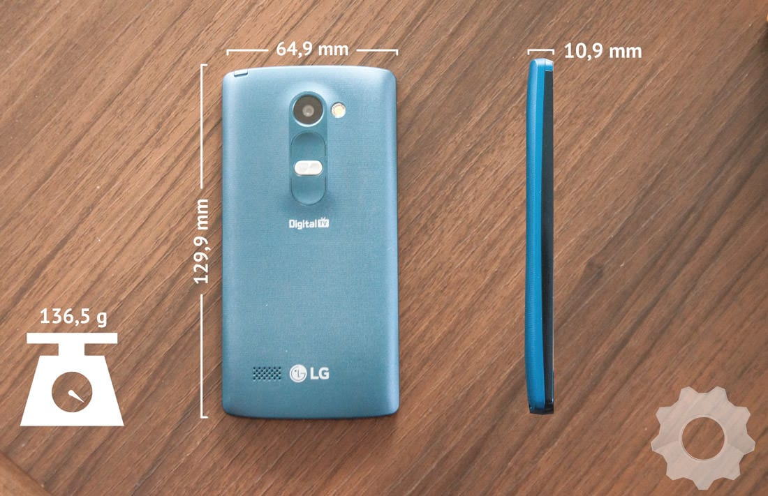 Review LG Leon