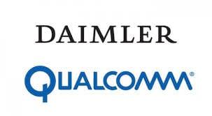 Empresa chefe da Mercedes-Benz fecha parceria com a Qualcomm