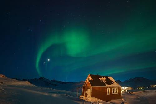 Fenômeno acompanhado na Groelândia.
