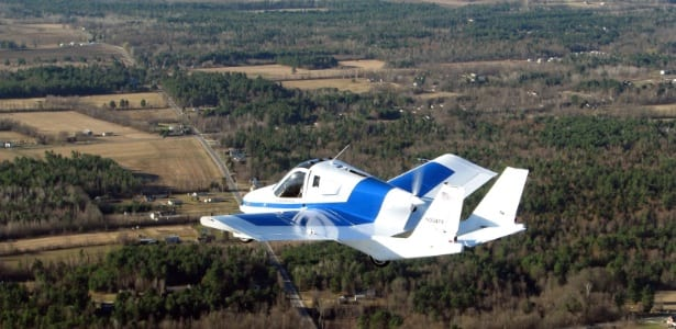 Carros voadores, o futuro está chegando