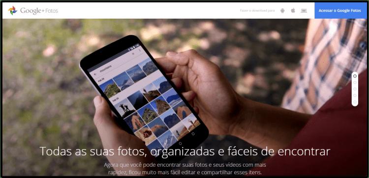 Google I/O 2015: Google Photos, o novo aplicativo de armazenamento e edição de imagens da companhia