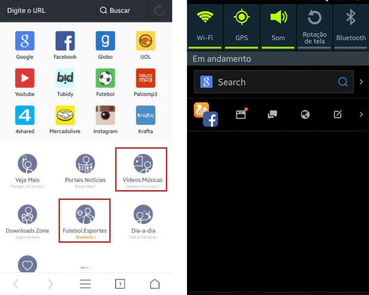 Filmes, séries, Brasileirão e Facebook: eis a receita do novo UC Browser para conquistar os usuários brasileiros