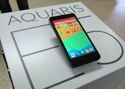 Aquaris E5HD, o novo smartphone da espanhola BQ com sistema Ubuntu
