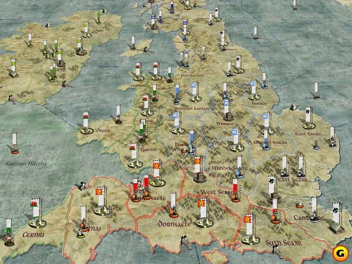 Mapa dos vikings