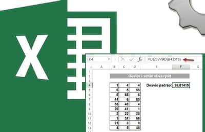 Calculando Desvio Padr�o no Excel