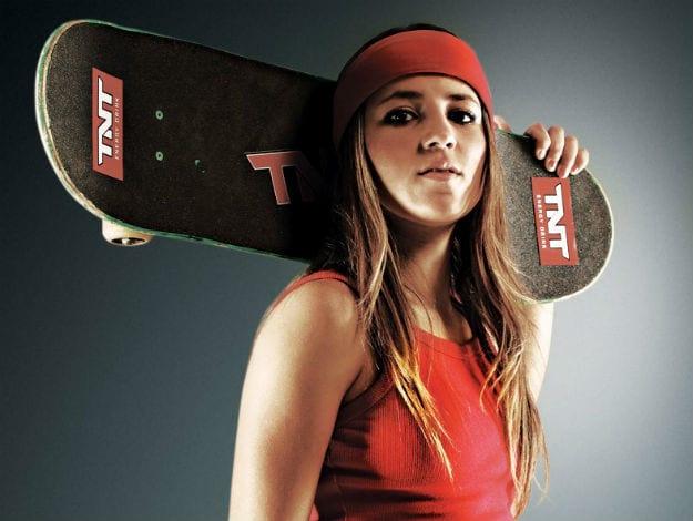 A brasileira Letícia Bufoni estará presente no game
