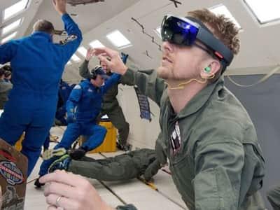 Parceria entre Microsoft e NASA levar� o HoloLens ao espa�o