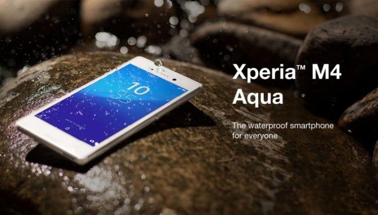 Sony anuncia a chegada do Xperia M4 Aqua no Brasil