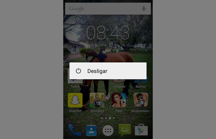 Como iniciar em modo de segurança no Android?
