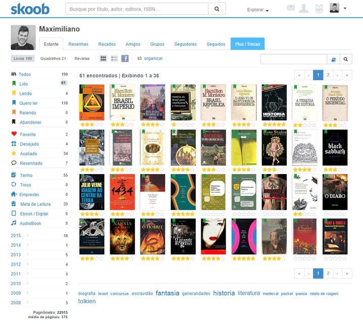 Skoob - A rede social que você precisa usar