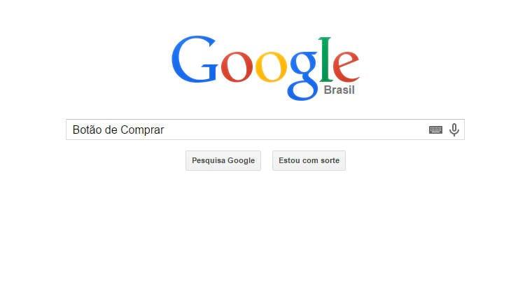 Google anuncia botão de compras para o buscador