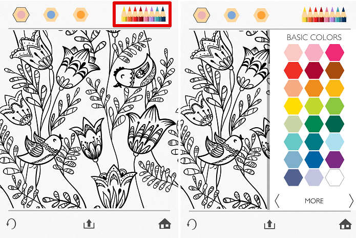 Aplicativo para colorir chega aos dispositivo da Apple