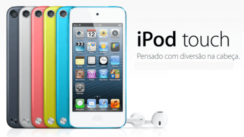 Apple lança nova versão do iPod Touch