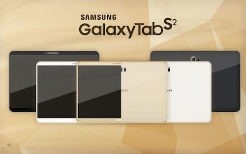 Samsung anuncia a nova linha de tablets Galaxy Tab S2