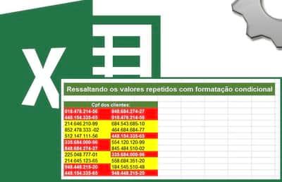 Achando valores repetidos ou exclusivos com formata��o condicional no Excel